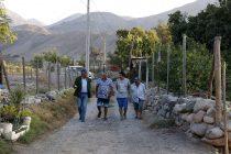 Presentan avances del sector La Pirámide de Peralillo compuesto por 24 familias
