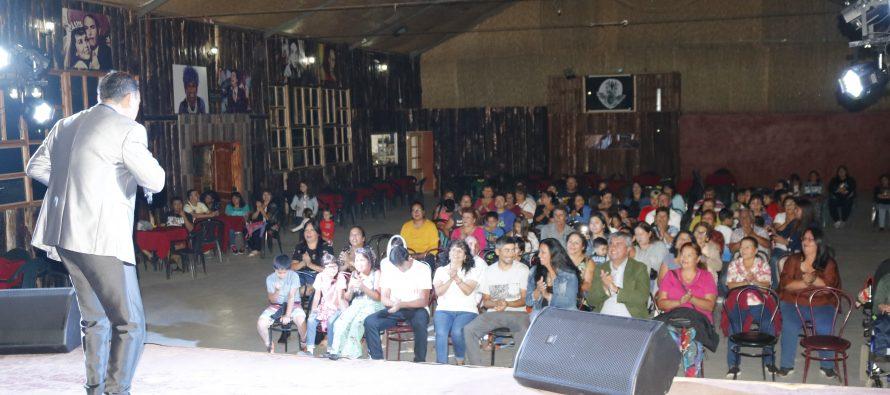 Vecinos de Villaseca disfrutaron con show artístico enmarcado en actividades del Carnaval Elquino en tu Localidad