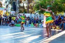 """La danza se tomó el centro de Vicuña en una nueva muestra de """"Plaza Cultural"""""""