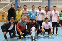 Equipo Municipal logra quedarse con el tricampeonato de la Liga Laboral de Baby Fútbol