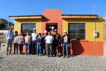 Autoridades regionales visitan nuevo complejo habitacional que existirá en Gualliguaica