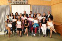 30 mujeres se beneficiaron con un taller de gasfitería general en Vicuña