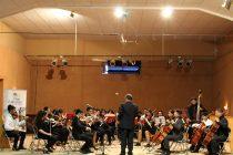 Orquesta Sinfónica Juvenil de la Antena ofreció concierto en Paihuano