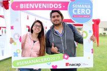Más de dos mil nuevos alumnos viven la Semana Cero en INACAP La Serena