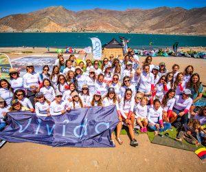 """""""Kite Girl Day"""" en Embalse Puclaro"""