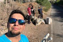 """Vecinos de Vicuña y el municipio se suman al """"Trashtag Challenge"""""""