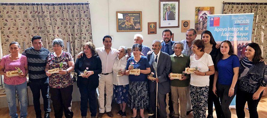 Adultos mayores de Paihuano serán apoyados por profesionales como parte del Programa Vínculos
