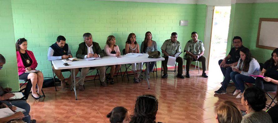 Buscan solución de seguridad y arriendos de casas irregulares en la población Antakari