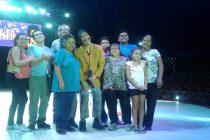 Circo de Ruperto benefició a agrupación de discapacidad en su última función en Vicuña