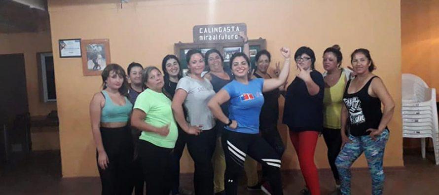 """En Vicuña se comenzó a realizar el programa """"Mujer y Deporte"""" financiado por el IND"""