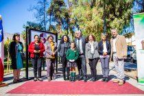 En la Plaza de Vicuña se retrata vida y obra de Gabriela Mistral