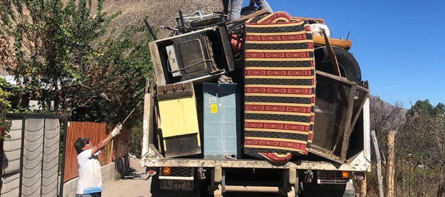 Exitoso operativo de retiro de cachureos se realizó en Andacollito y La Campana
