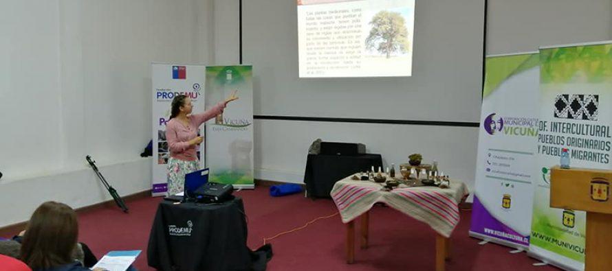 Realizan charla destinada a profundizar mediante conocimientos ancestrales el rol de la mujer