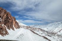 Paso Agua Negra cierra temporada  2018-2019 por acumulación de hielo sobre los 4 mil metros