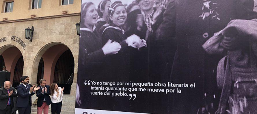 Gobierno conmemora  el natalicio  130° de Gabriela Mistral en La Serena