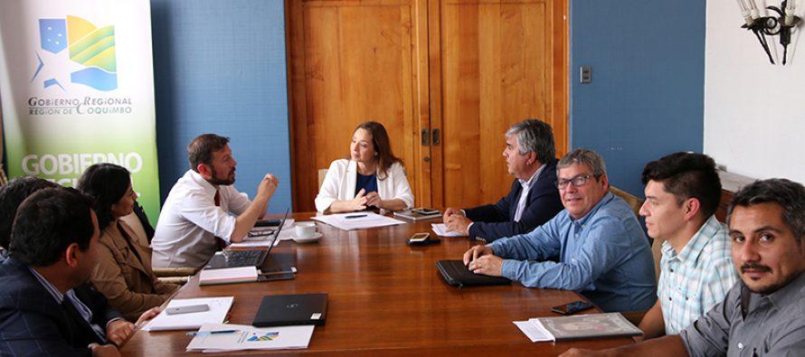 Analizan inversiones 2019 en Vicuña a través del FNDR del Gobierno Regional de Coquimbo