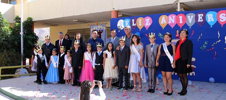 Escuela Joaquín Vicuña conmemoró su aniversario XVI junto a la comunidad educativa