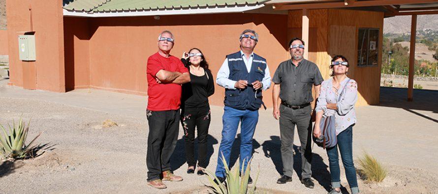 Vicuña contará con dos puntos oficiales de observación para el Eclipse Total de Sol