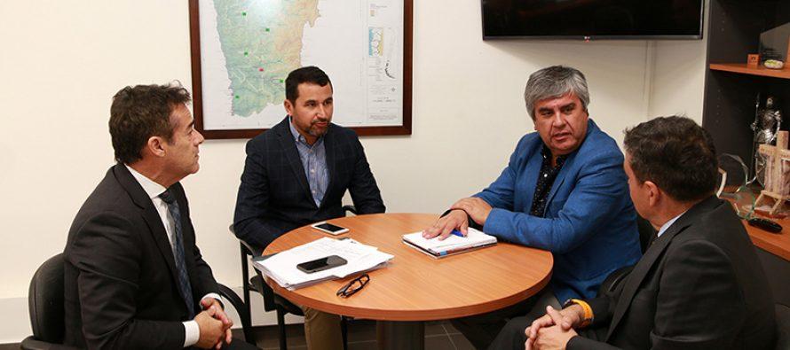 Alcalde de Vicuña realiza gestiones con Banco Estado para tomar resguardos para el eclipse