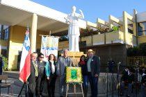 Escuela Lucila Godoy Alcayaga de Vicuña honra a  Gabriela Mistral días previos a su 130 natalicio