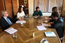 """Lucía Pinto: """"Agua Negra es un proyecto de gran importancia y su avance lo estamos tomando con seriedad y responsabilidad para que sea exitoso"""""""