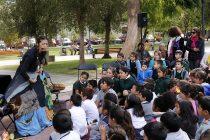 Vicuña celebró el Día Internacional del libro y la lectura con cuentacuentos y títeres