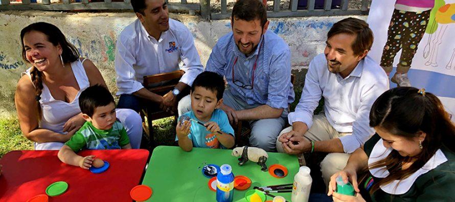 Niños de jardín infantil en Horcón celebran una Pascua de Resurrección Saludable junto a Elige Vivir Sano