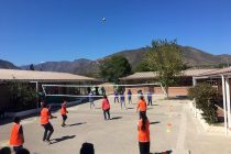 Escuelas rurales de la comuna de Vicuña conmemoraron el Día Internacional del Deporte