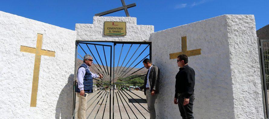 Cementerios municipales de Vicuña presentan diversas mejoras en sus instalaciones