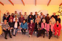 Agrupación de adultos mayores de la POGAMI celebró su noveno aniversario