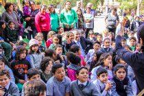Cuenta cuentos y títeres marcaron la celebración del Día del Libro en Vicuña