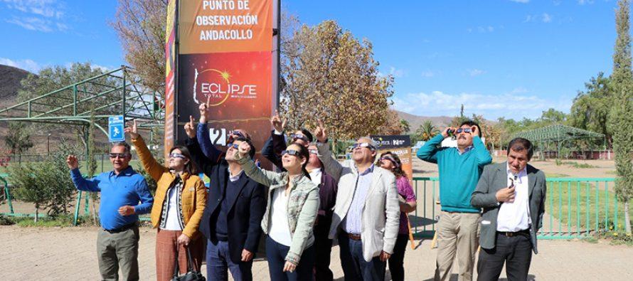 Invitan a la región y al país a presenciar el Eclipse Total de Sol en 16 puntos oficiales de observación