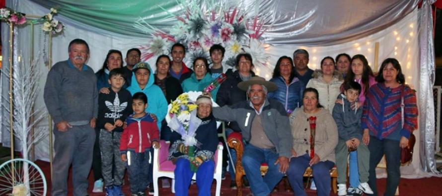 Cientos de madres llegaron hasta la plaza Gabriela Mistral para celebrar su día en Vicuña