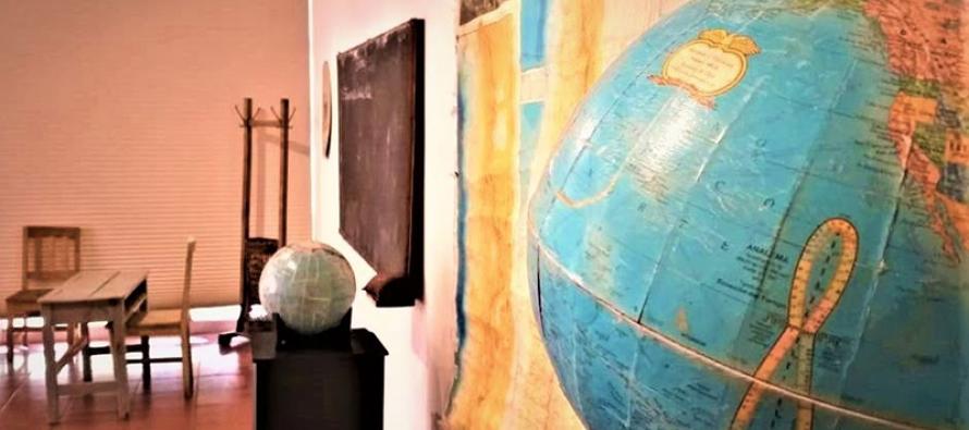 Exposición de objetos históricos de la educación elquina se presenta en Museo Gabriela Mistral