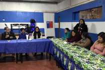 Club Deportivo La Estrella de Oriente de Horcón  luce renovada sede social gracias al apoyo de FOSIS