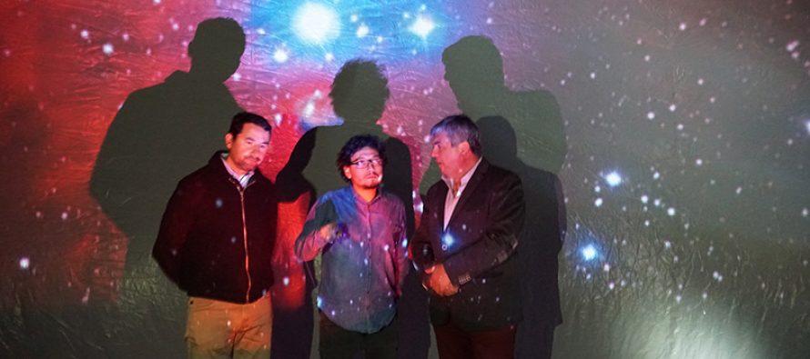 Planetario móvil de la ULS deleitó a los asistentes con proyecciones sobre el universo