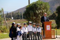 Escuelas de Vicuña conmemoran un nuevo aniversario del Combate Naval de Iquique