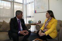 Alcalde de Vicuña y Gobernadora de Elqui analizan mitigaciones por eclipse de sol