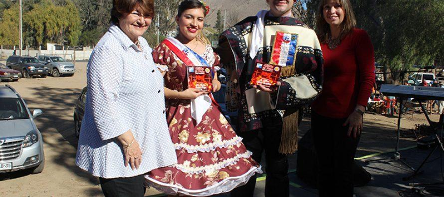En Vicuña se vive una nueva versión de la Fiesta del Asado al Palo