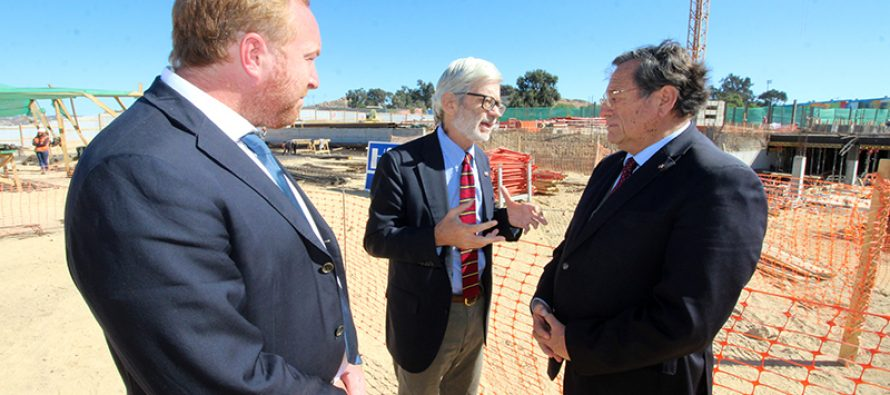 CORE Castagneto pidió compromiso al Ministro de Obras Públicas para seguir avanzando en el Túnel de Agua Negra