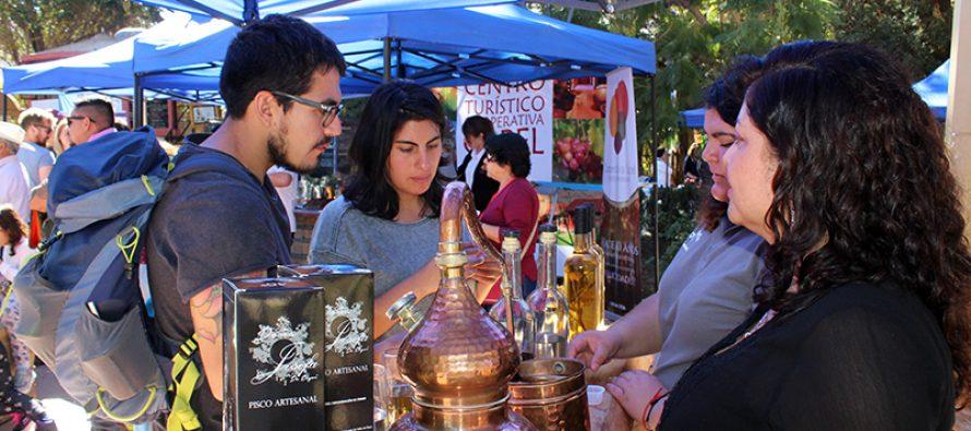 En Pisco Elqui se vivió una nueva versión de la Fiesta Cuna del Pisco
