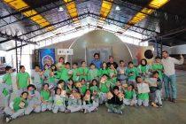 Planetario móvil de la Universidad de La Serena deleitó a los asistentes con proyecciones sobre el universo