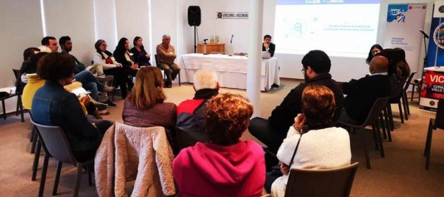 Empresarios turísticos de Vicuña conocen los procesos de certificación del área