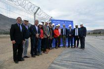 Ministro del MOP inaugura tranque de Aguas del Valle en Las Rojas