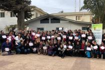 Dirigentes vecinales de Vicuña se capacitaron en liderazgo y formulación de proyectos en El Tabo