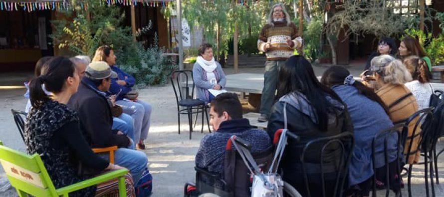 Con taller de yerbas medicinales culminó el programa de jardinería inclusiva en Vicuña