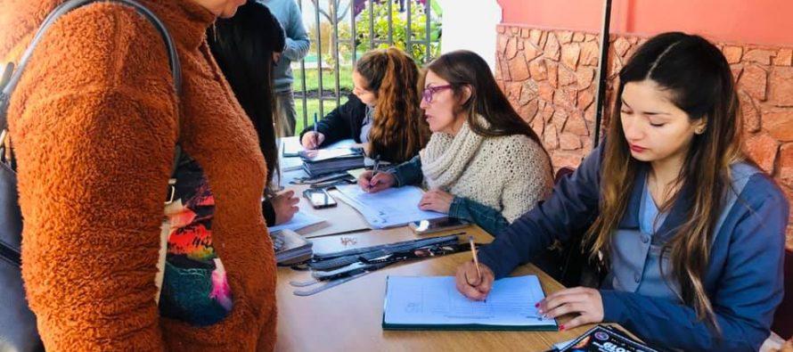 Alrededor de 15 mil lentes se están repartiendo para los vecinos de la comuna de Vicuña