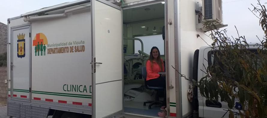 Clínica dental móvil continúa con la extensión horaria de su atención en el sector rural