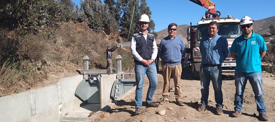 CNR visita innovador proyecto de riego del canal Bellavista que incorpora prefabricados para obras civiles