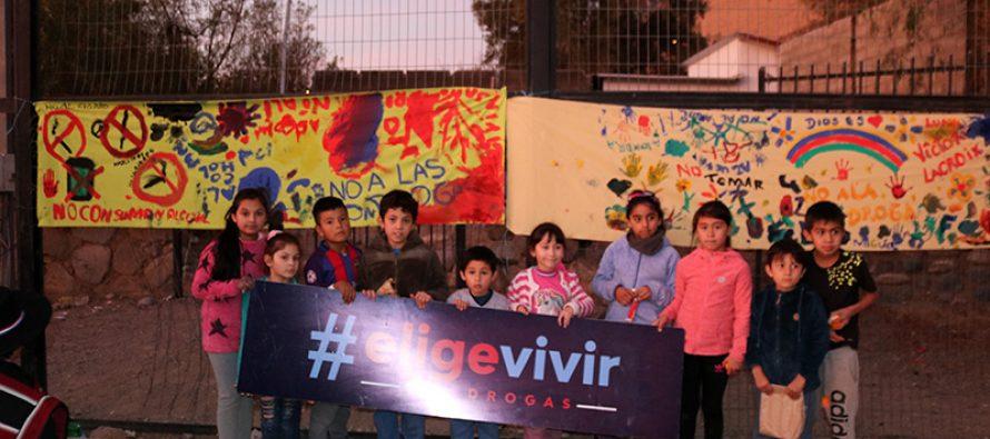 Lanzan en Lourdes programa de Senda Previene Elige Vivir sin Alcohol y Drogas